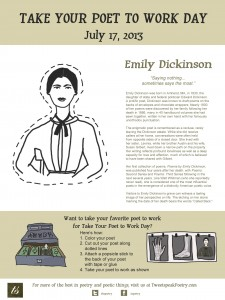 Take Your Poet to Work - Emily Dickinson
