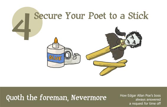 take your poet to work day infographic cover