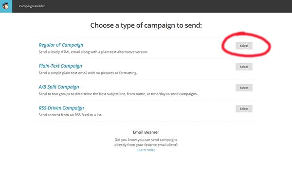 Choose Regular Old Campaign